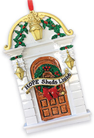 HOPE Sheds Light Ornament