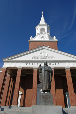 WVWC Wesley Chapel and John Wesley